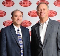 Mark Eldridge and Steve Siebold, partners in the University of Mental Toughness coursework and programs.